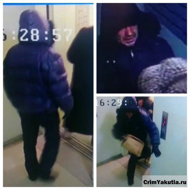 В Якутске на женщину в лифте напал грабитель