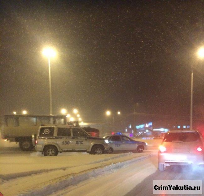 ДТП на кольцевой в Якутске