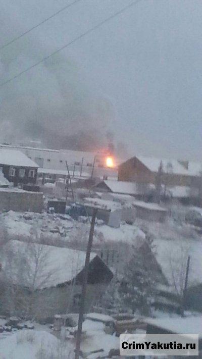 Пожар на ул.Очиченко