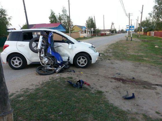 Пьяный водитель сбил мотоциклиста