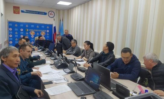 Эвакуация населения из-за паводка в якутском селе Кюпцы начнется на рассвете