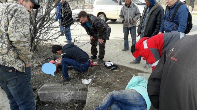 Два ребенка пострадали при ДТП в Якутске