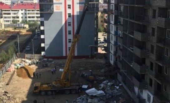 Смерть рабочего на стройке в Якутске: на него упал шлакоблок