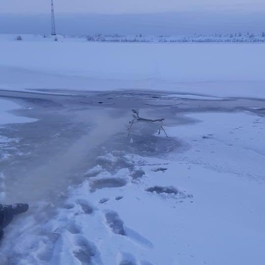 В Якутске продавец рыбы спас тонущего человека