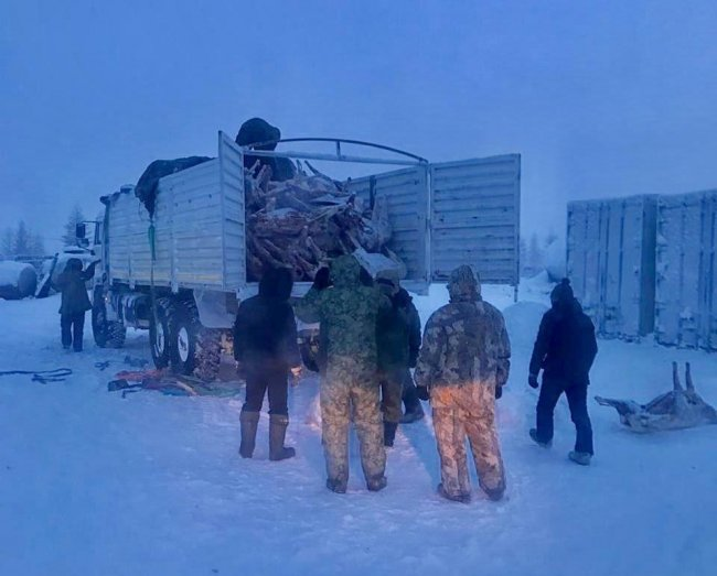 В Оленекском районе задержаны браконьеры из Красноярского края