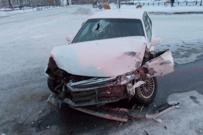 В Якутске произошло ДТП по вине грейдера
