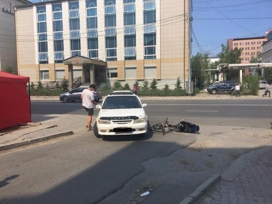 В Якутске в очередном ДТП с детьми участником стал 3-летний ребенок.