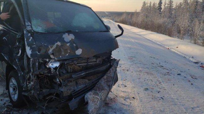 В дорожно-транспортном происшествии в Алданском районе травмированы два человека